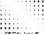 abstract halftone dotted... | Shutterstock .eps vector #636103484