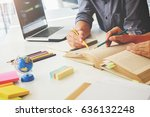 education concept. students... | Shutterstock . vector #636132248