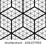 contrast black and white... | Shutterstock .eps vector #636157403