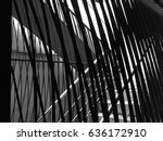 abstract low key image of light ... | Shutterstock . vector #636172910