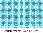 seamless vector pattern.... | Shutterstock .eps vector #636178394