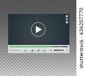 template of video player...