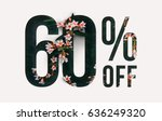 brilliant promotion sale poster ... | Shutterstock . vector #636249320