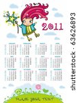 2011 Calendar With Cute Fairy...