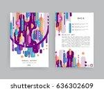 creative cover design   Shutterstock .eps vector #636302609