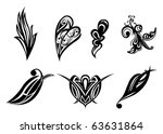 tattoo images | Shutterstock .eps vector #63631864