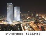 The Night Tel Aviv City   View...