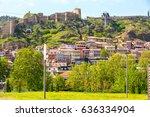 narikala citadel  traditional... | Shutterstock . vector #636334904