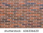 brown brick wall background | Shutterstock . vector #636336620