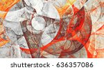 abstract painting color texture.... | Shutterstock . vector #636357086