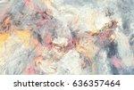 artistic splashes. abstract...   Shutterstock . vector #636357464