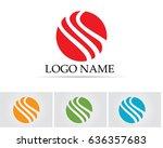 business line finance logo | Shutterstock .eps vector #636357683