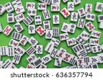 Full Of Mahjong Tiles  The...