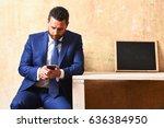 interview.  | Shutterstock . vector #636384950