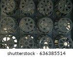 flowerpot  | Shutterstock . vector #636385514