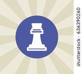 chess figure icon. sign design. ...