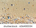 Texture With Shell And Pebble...