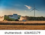 Combine Harvester Agriculture...