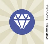 diamond icon. sign design....