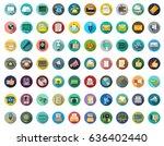communication icons   Shutterstock .eps vector #636402440
