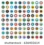 education icons | Shutterstock .eps vector #636402614