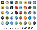 tools icons | Shutterstock .eps vector #636403730