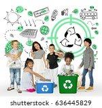 Little Kids Recycle Sign Eco - Fine Art prints