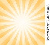 abstract light yellow orange...   Shutterstock .eps vector #636450068