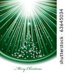 christmas background | Shutterstock .eps vector #63645034