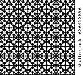 raster monochrome texture ... | Shutterstock . vector #636453896