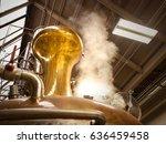 a photograph of a pot still in... | Shutterstock . vector #636459458