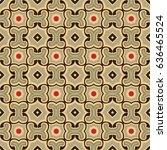 Seamless Illustrated Pattern...