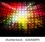 sparkling night  lights | Shutterstock .eps vector #63646894
