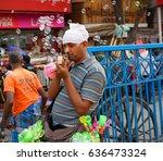 kolkata  india   march 04  2017 ... | Shutterstock . vector #636473324