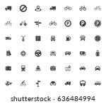 transport icons | Shutterstock .eps vector #636484994