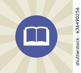 book icon. sign design....