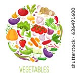 banner round composition with... | Shutterstock .eps vector #636491600
