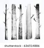Forest Background With Simple...