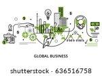 modern thin line design vector... | Shutterstock .eps vector #636516758