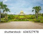 royal palace istana negara ... | Shutterstock . vector #636527978