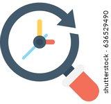 deadline vector icon   Shutterstock .eps vector #636529490