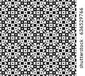 raster monochrome seamless... | Shutterstock . vector #636529766