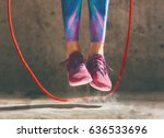 healthy lifestyle and sport... | Shutterstock . vector #636533696
