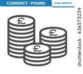 currency   pound icon....   Shutterstock .eps vector #636573254