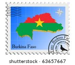 vector stamp with the image... | Shutterstock .eps vector #63657667