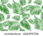 seamless background pattern... | Shutterstock .eps vector #636595706