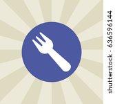 fork icon. sign design....