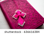 Pink Bible With Handmade Pink...