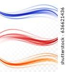 abstract elegant colorful light ... | Shutterstock .eps vector #636621436