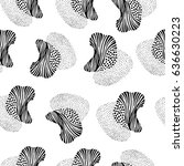creative seamless pattern with...   Shutterstock .eps vector #636630223